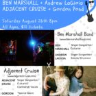Adjacent Cruise Collaboration Series #2 with guest Bassist Gordon Pond!