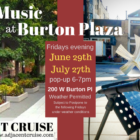 Live Music at Burton Plaza!