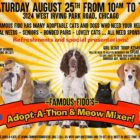 Famous Fido's Adopt-a-thon and Meow Mixer